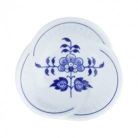 布爾諾廣場波紋花形碟-8cm