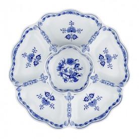 花開富貴六福饗宴盤-35cm