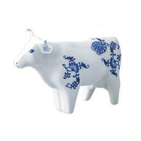 布拉格高堡經典動物瓷擺飾-牛連忘返