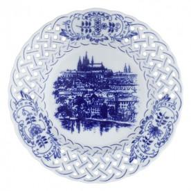 布拉格高堡珍藏精雕圓淺盤-19cm